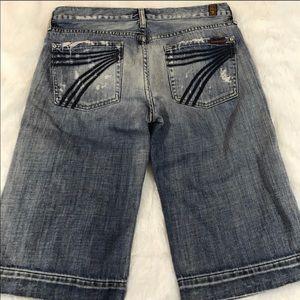 7 for all mankind Dojo shorts sz 29